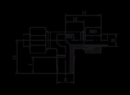 TE - T-koppling utv gänga